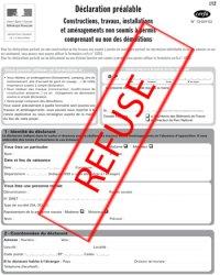 Les cas de refus d'une déclaration préalable ou d'un permis de construire - Vos DÉCLARATIONS ...